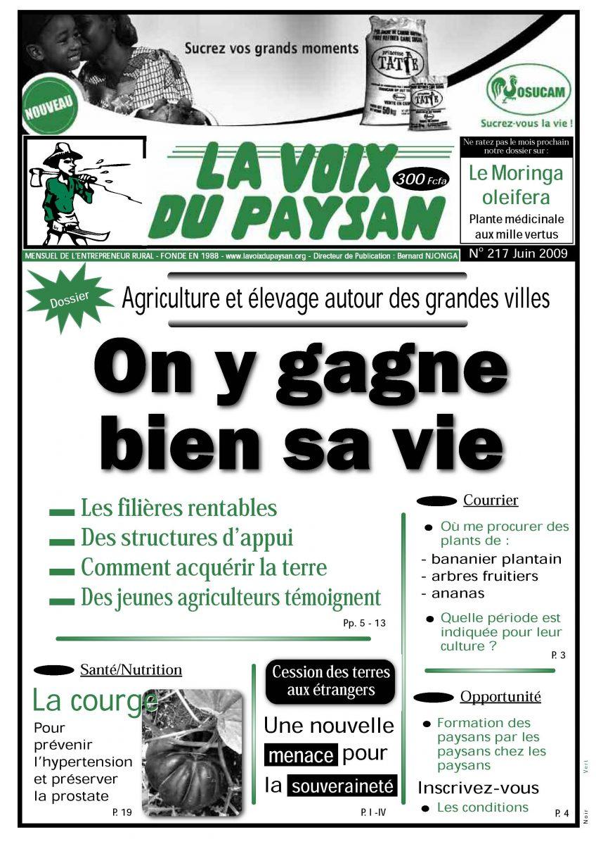 N°217 Juin 2009