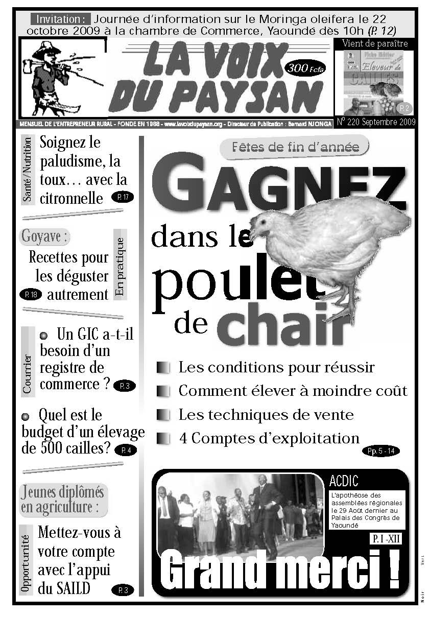 N°220 Sept 2009