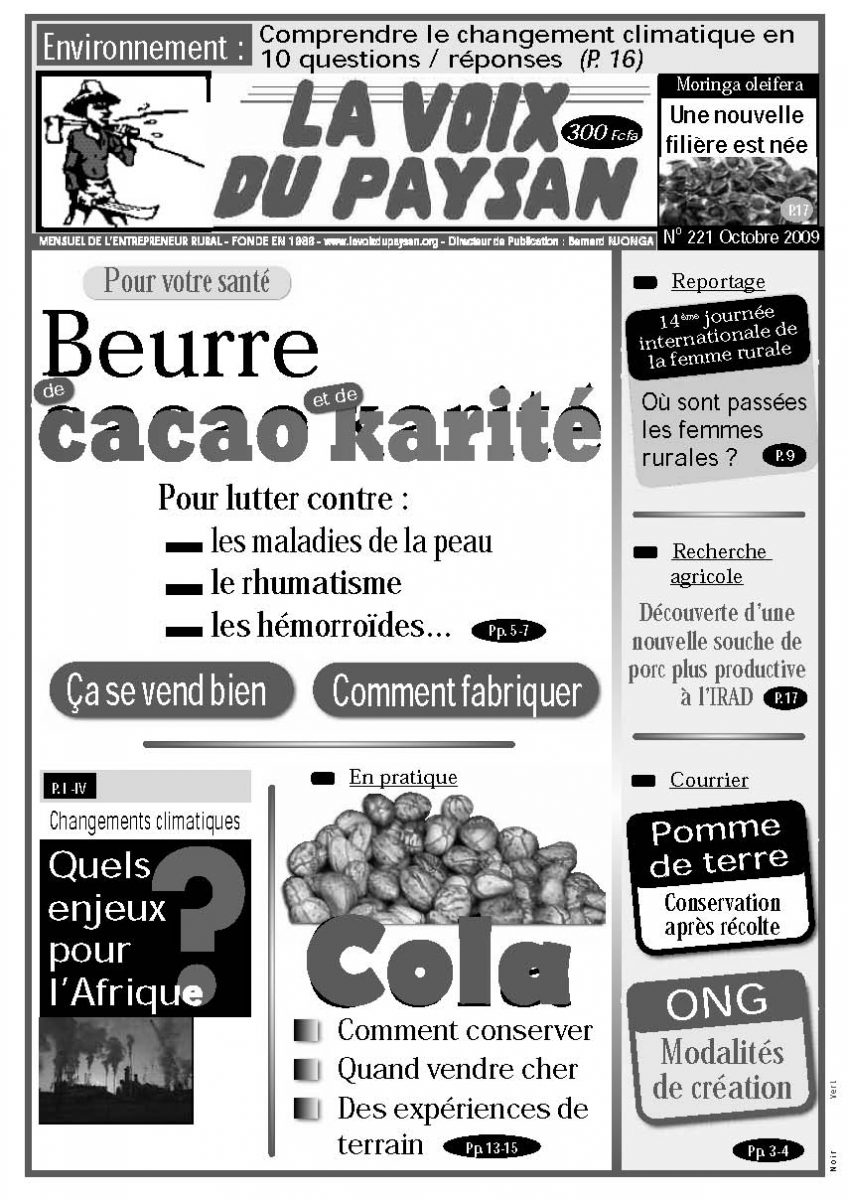 N°221 Oct 2009