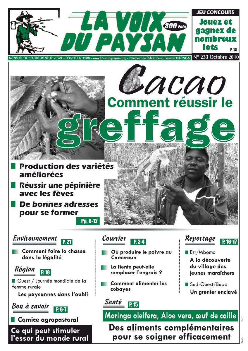 N°233 Oct 2010