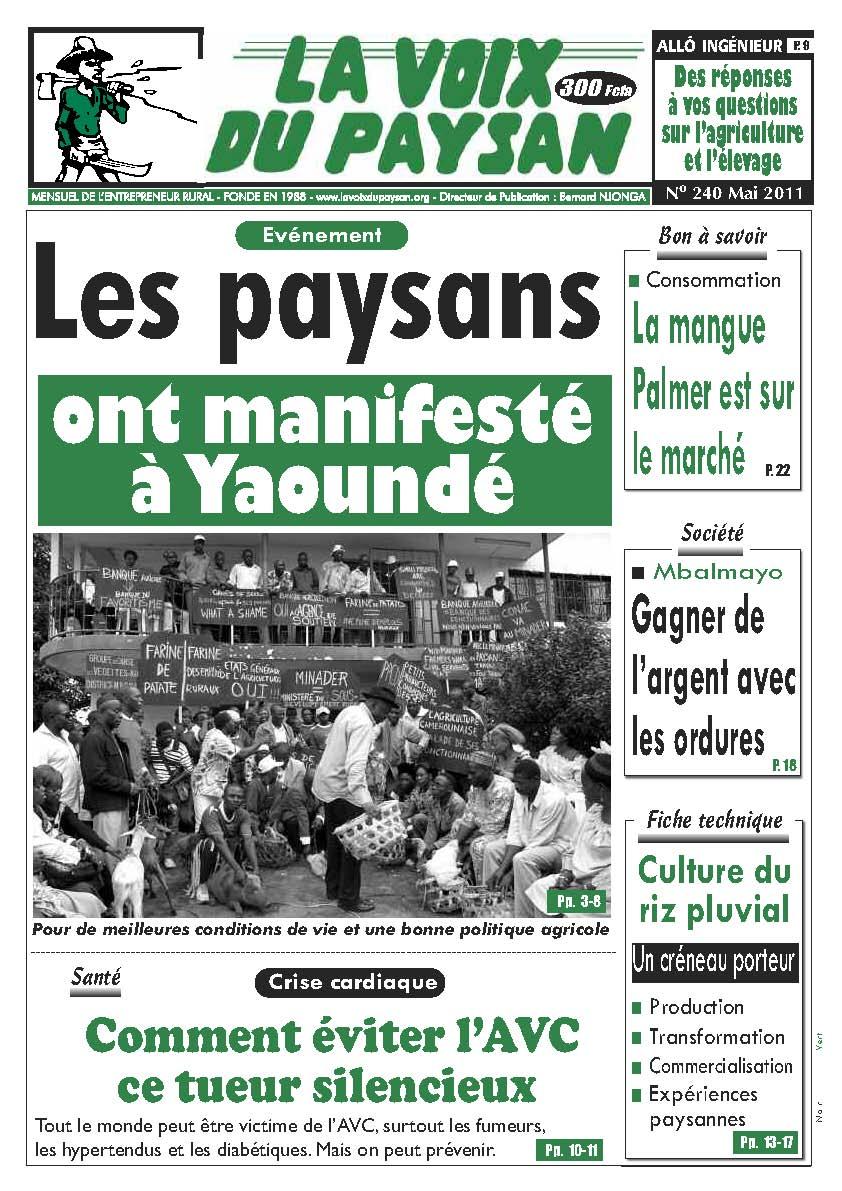 N°240 Mai 2011